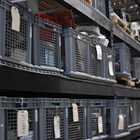 Step 7: Hard-to-find parts and components can be a challenge. But with 40 years of drive and board repair experience, Innovative-IDM has amassed racks of spare components in our warehouse from which we can pull obsolete parts.