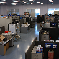 Step 1: Since the 1970s, repairs have been done at our Houston-based repair depot by Innovative-IDM technicians.